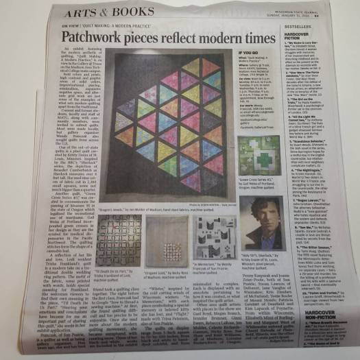 Green Cross #3 in Wisconsin State Journal