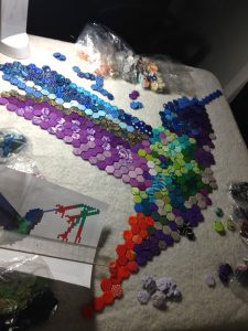 Hexie Hummingbird Layout 2