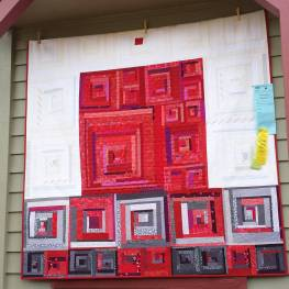 Root Chakra Quilt - photo by Juline Bajada