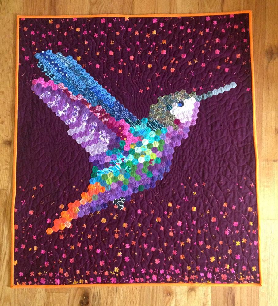 Hexie Hummingbird Finish