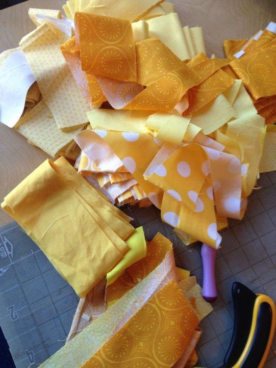 Manipura Quilt fabrics