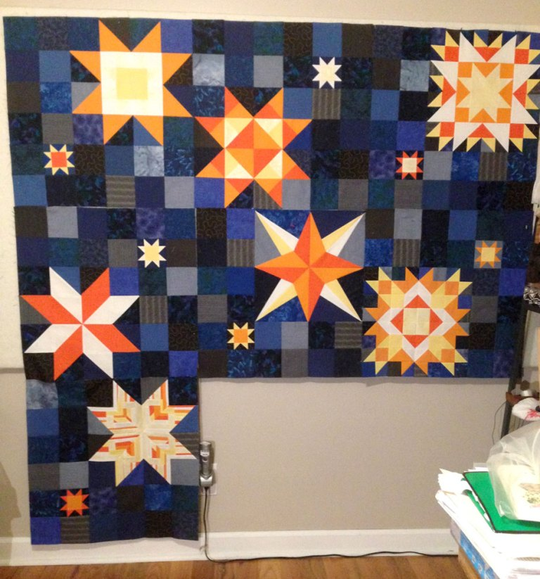 BOM stars quilt