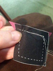 Running Stitch To End