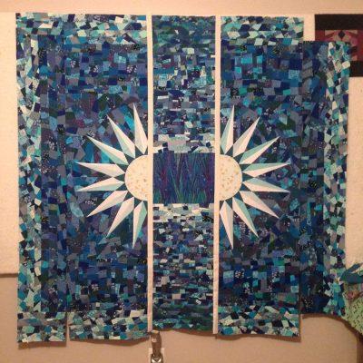 vishuddha quilt