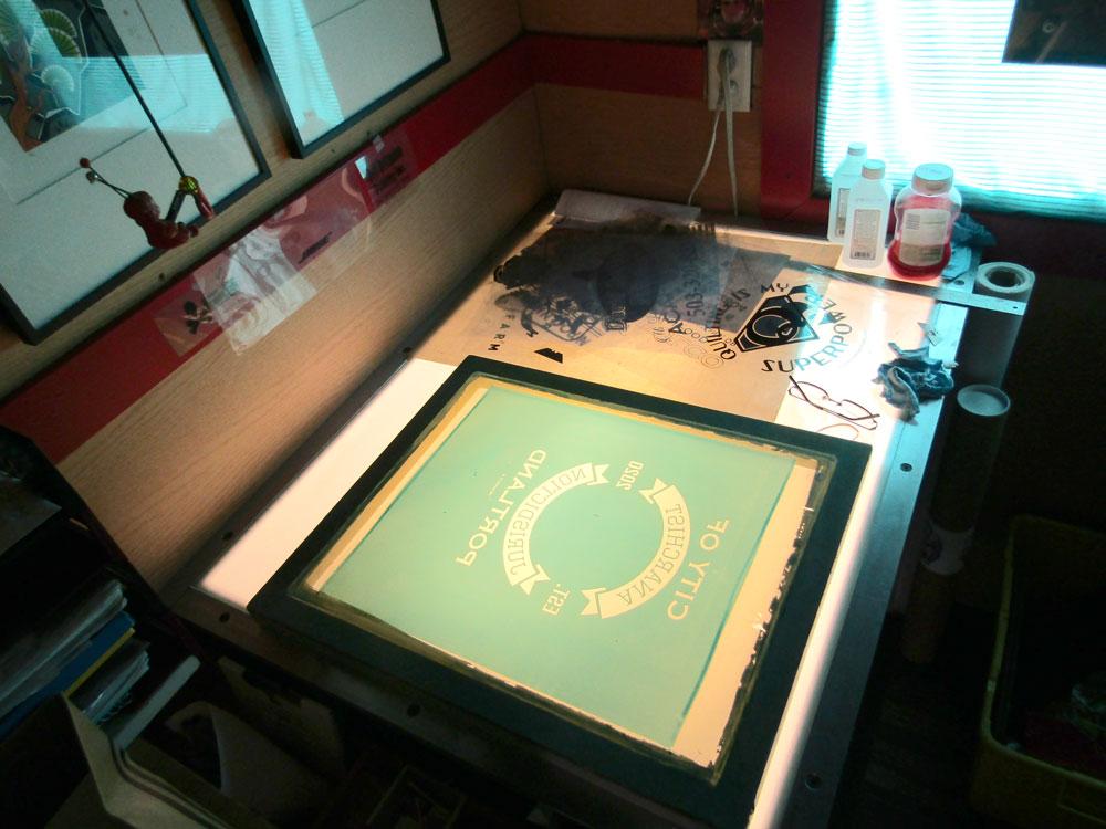 lightbox wiht screen