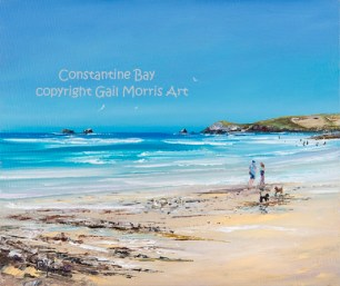 Constantine Bay - Original SOLD Mounted prints from £35