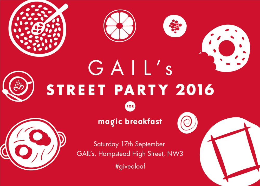 GAIL's Street Party 2016