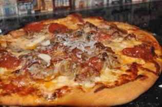 Homemade Sausage Pizza