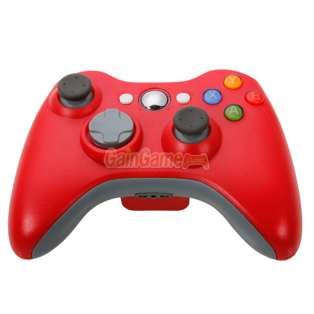 New Red Wireless Game Remote Controller For Microsoft Xbox