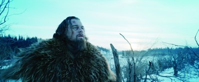 "This photo provided by courtesy of Twentieth Century Fox shows, Leonardo DiCaprio as Hugh Glass, in a scene from the film, ""The Revenant,"" directed by Alejandro Gonzalez Inarritu. The 73rd annual Golden Globe nominations in film and television categories will be announced Thursday morning, Dec. 10, 2015, in Beverly Hills, Calif. (Courtesy Twentieth Century Fox via AP)"