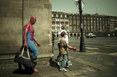 superhero life, gain weight, get superpowers