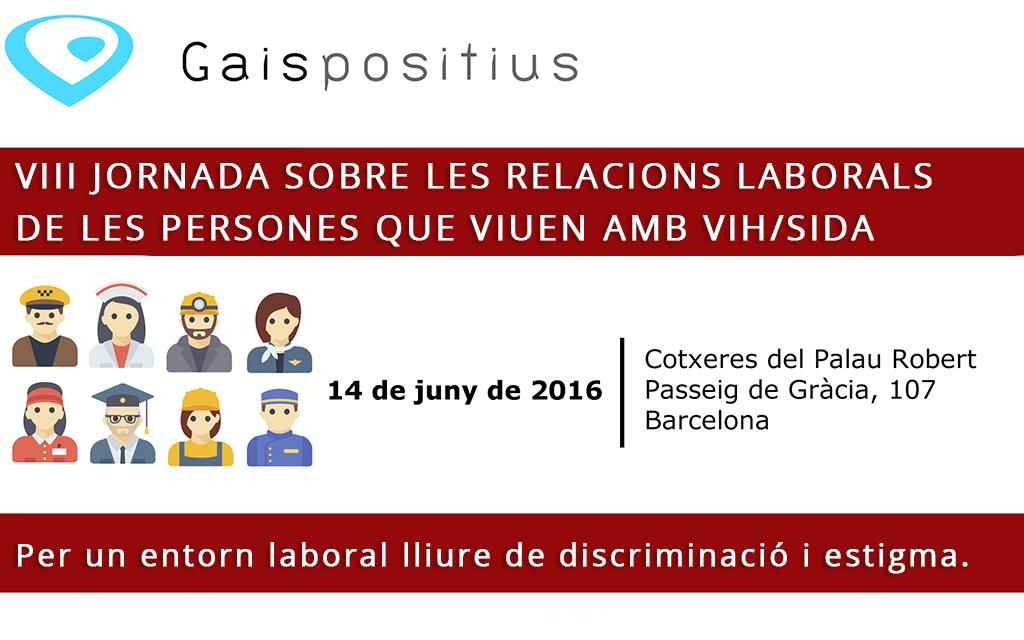 VIII jornada sobre las relaciones laborales de las personas que viven con VIH/sida