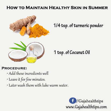 How to Maintain Healthy Skin in Summer