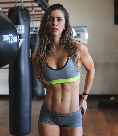 Fitness Model Anllela Sagra Biography, Fitness and Workout ...