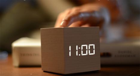 Alarm Clock With A Hidden Talent