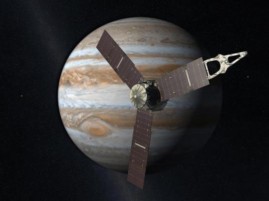 La sonda interplanetaria Juno