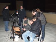 Serata di osservazione e astrofotografia tramite una webcam collegata ad un portatile