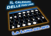 La Luna del mese: calendario lunare e fasi della Luna
