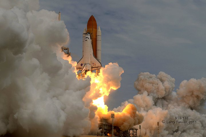 STS-135 launch July 8, 2011