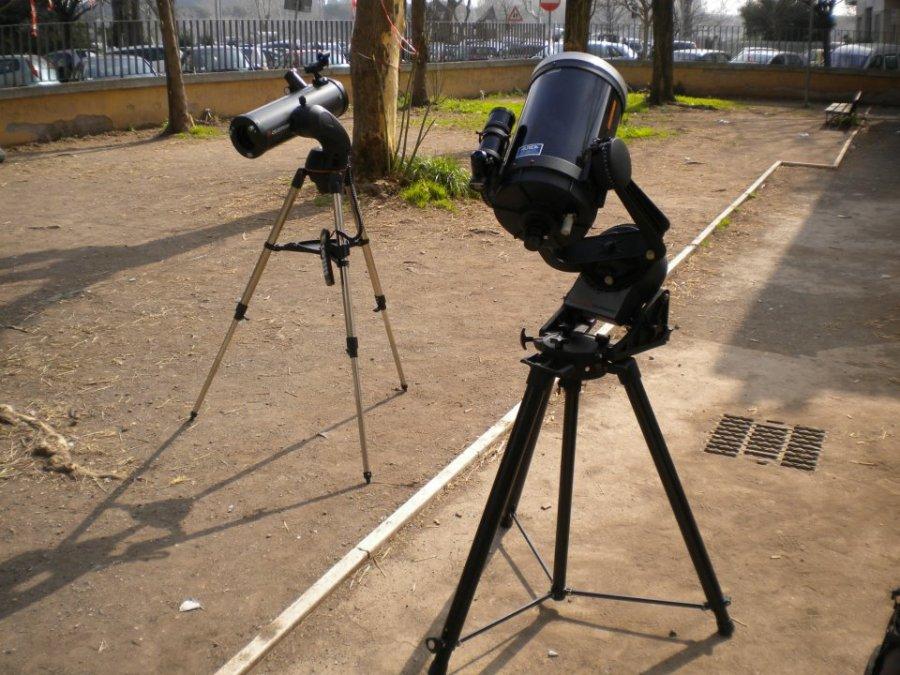 I telescopi slt114 e c8