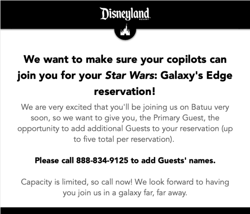 Galaxy's Edge – Galactic Outfitters