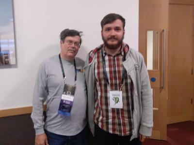 Steve Jackson (left) and Marius Gordan (right)