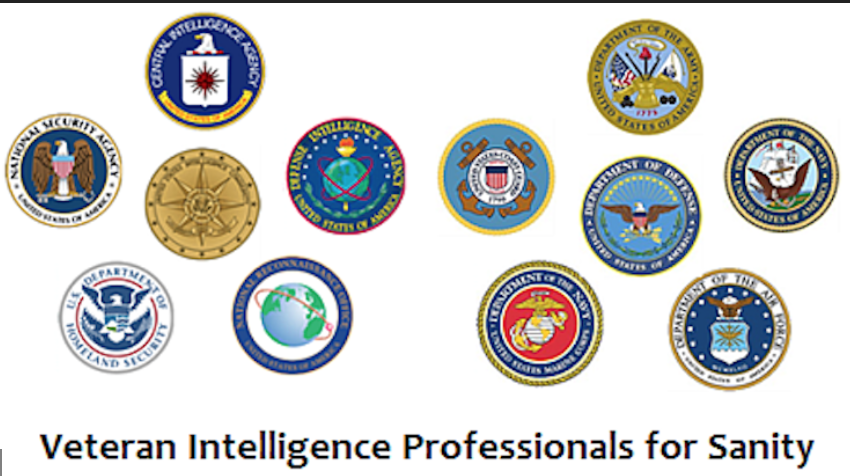 Veteran Intelligence Professionals for Sanity: No Syria Escalation; There Was No Syrian Chemical Weapons Attack