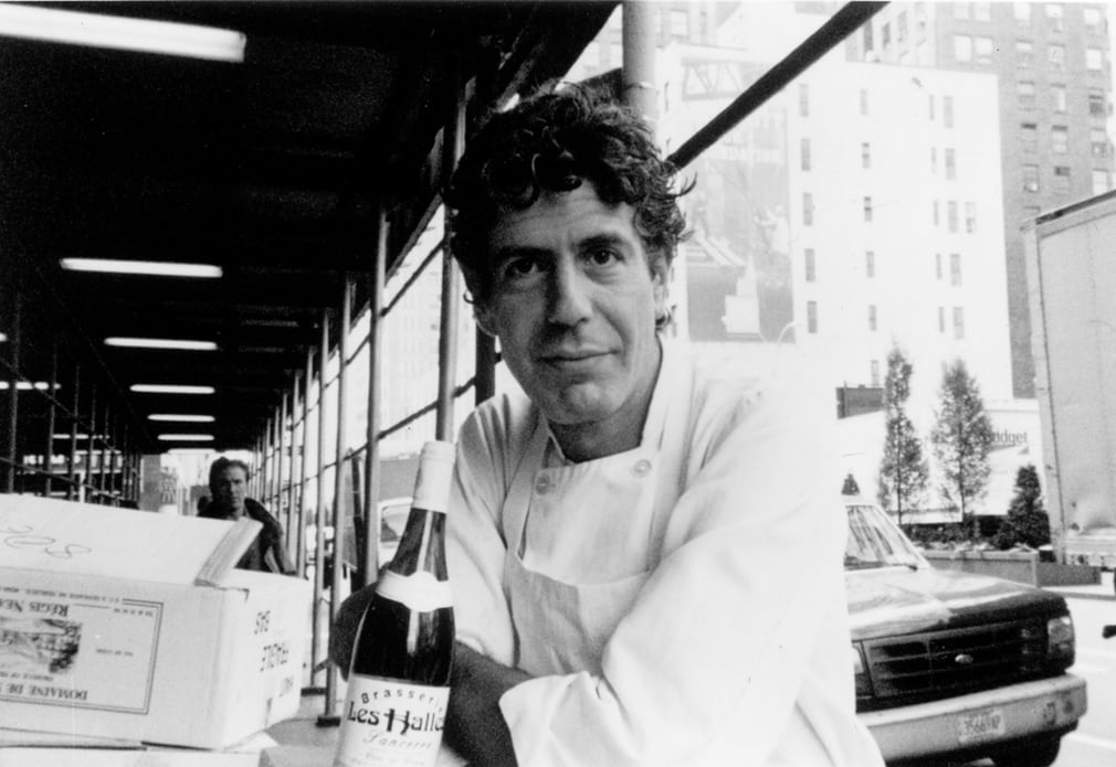 Anthony Bourdain worked in several restaurants in New York before becoming executive chef at Brasserie Les Halles in Manhattan.jpg
