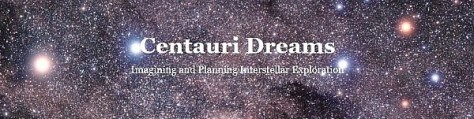 Centauri Dreams -- Imagining and Planning Interstellar Exploration