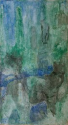 """"""" diana con lupa """" -2006, cm 125x222, mixed on wood"""