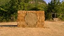 """""""cerchio nel grano"""", 2012, cm 300cx210, Cilento"""