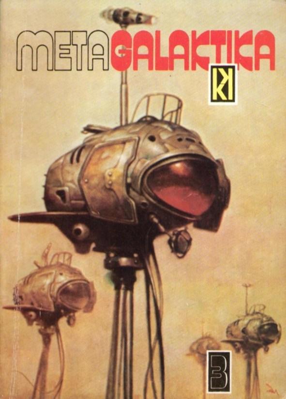 A MetaGalaktika 3 borítóján is Kato illusztrációja látható