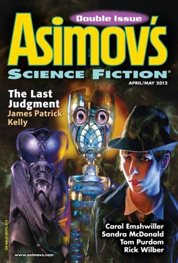 Asimov's April-May 2012 Cover
