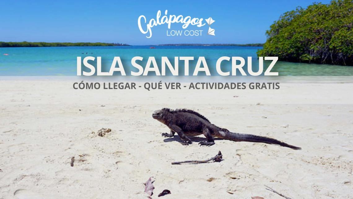 Santa Cruz Galápagos: qué ver, cómo llegar, actividades gratis