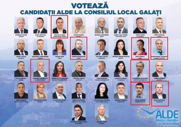 ALDE lista municipiu