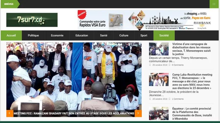 Meilleurs sites d'actualités pour une information sur la RDC