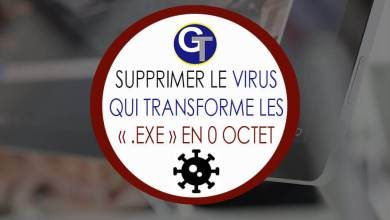 Photo of Comment supprimer Syswin le virus qui transforme les « .EXE » en 0 Octet ?