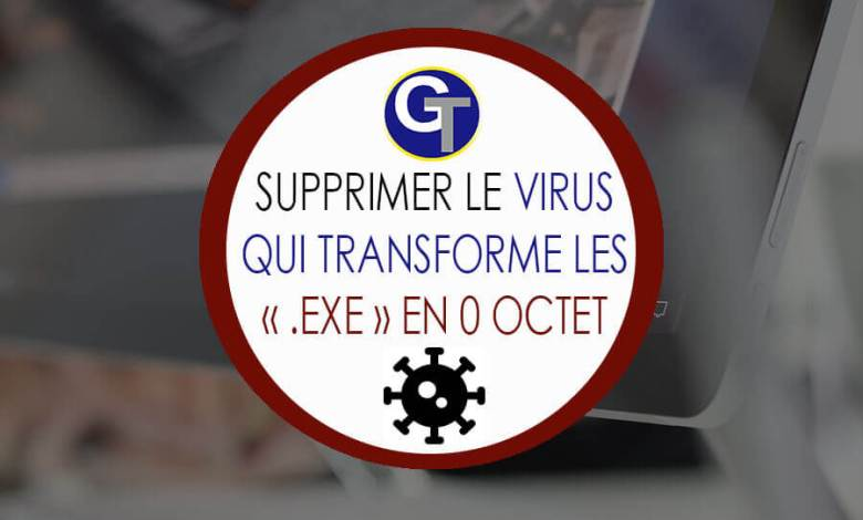 Supprimer Syswin le virus qui transforme les .EXE en 0 octet