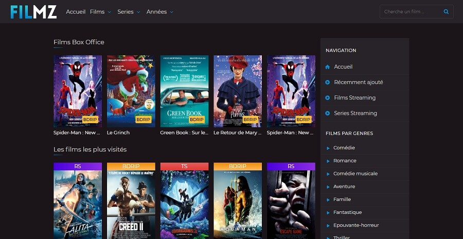 Sites de Streaming Gratuits Sans Limite Et Sans Inscription 2019