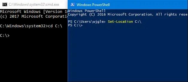 PowerShell vs CMD : La Différence entre CMD VS PowerShell ISE Sous Windows 7, 10, 8.1 et 8