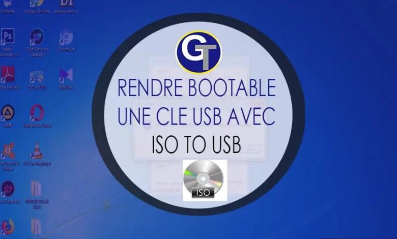 ISO To USB Windows : Télécharger ISO To USB Pour Créer Une Clé USB Bootable