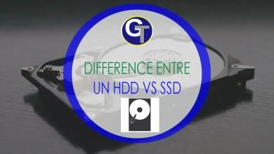 Photo of La différence entre un disque SSD vs HDD (Disque Dur mécanique)
