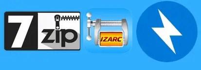 logiciels de compression, decompression et archivage