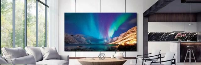 La Télévision et les écrans dans les maisons font aussi partie des tendances technologiques 2020