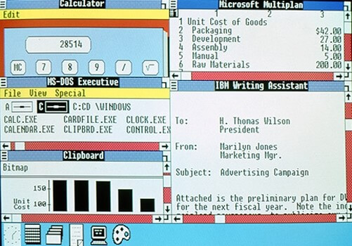 L'histoire de Windows avec Windows 2