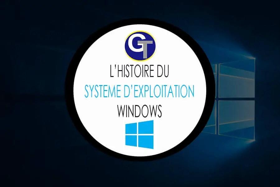 Quelle est la véritable histoire de Windows, le célèbre OS de Microsoft ?