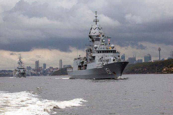 Los buques de guerra de la Armada australiana parten de Sydney para el  primer gran ejercicio de la flota en 2020 – Galaxia Militar