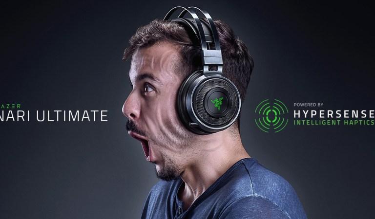 CES 2019 | Razer Hypersense levará imersão nos games a um novo patamar