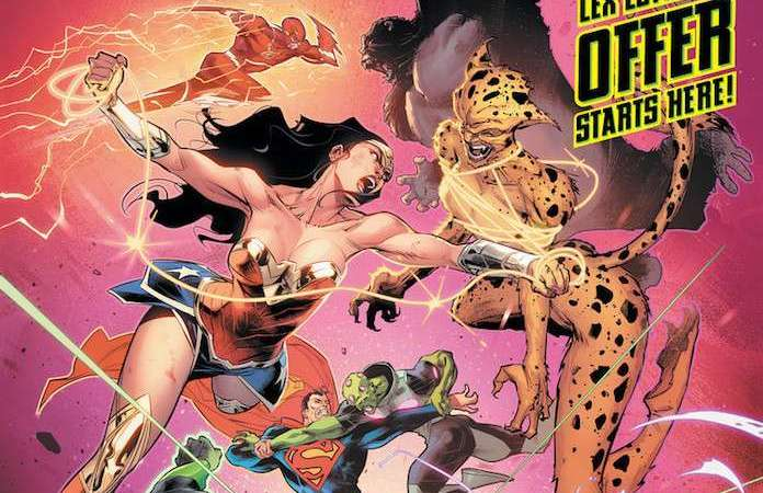 DC Comics revela novo logo da Liga da justiça!