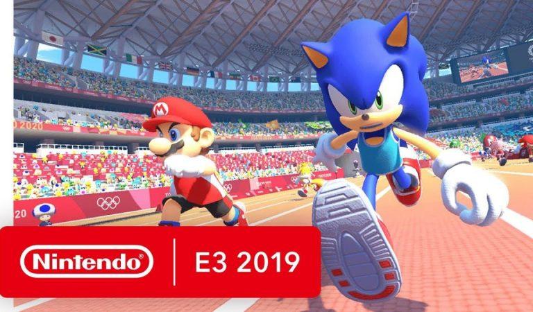 Mario e Sonic at the Olimpic Games Tokyo 2020 é anunciado para Nintendo Switch